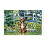 Bridge-Aussie Shep (#5) Sticker (Rectangle)