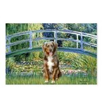 Bridge-Aussie Shep (#5) Postcards (Package of 8)