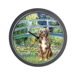 Bridge-Aussie Shep (#5) Wall Clock