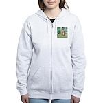 Bridge-Aussie Shep (#5) Women's Zip Hoodie