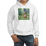 Bridge-Aussie Shep (#5) Hooded Sweatshirt