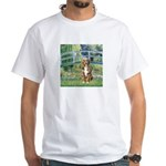 Bridge-Aussie Shep (#5) White T-Shirt