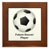 Future Soccer Framed Tile