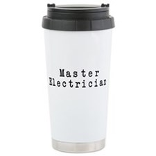 Master Electrician Ceramic Travel Mug