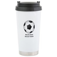 World's Best Soccer Coach Ceramic Travel Mug