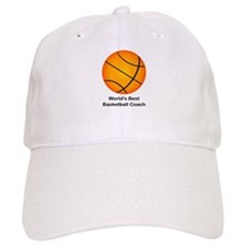World's Best Basketball Coach Baseball Cap