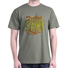 Year of the Monkey Black T-Shirt
