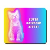 Rainbow Kitty MousePad