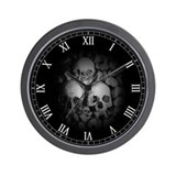 dark catacombs Wall Clock