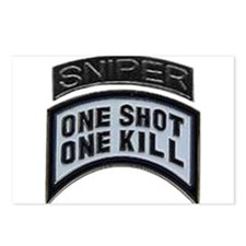 Sniper: One Shot/One Kill Postcards (Package of 8)