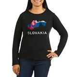 Map Of Slovakia T-Shirt
