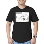 Cash Cow Men's Fitted T-Shirt (dark)