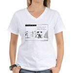 Cash Cow Women's V-Neck T-Shirt