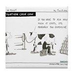 Cash Cow Tile Coaster