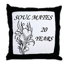 Cool Twentieth anniversary Throw Pillow