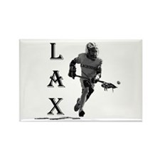 LACROSSE Logo - Rectangle Magnet (10 pack)