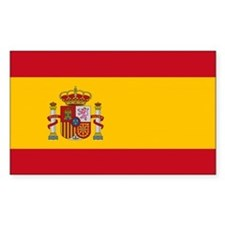 Spain Flag Decal