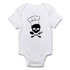 Skull & Crossbones Chef Infant Bodysuit
