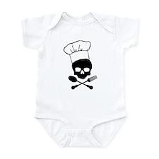 Skull & Crossbones Chef Onesie