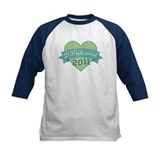 Heart Junior Bridesmaid 2011 Tee