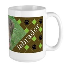 Chocolate Lab Photo Mug