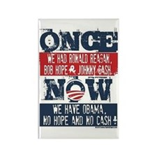 Funny Obama hope Rectangle Magnet (100 pack)