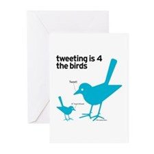 4 The Birds Greeting Cards (Pk of 10)