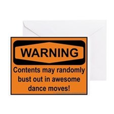 Warning Greeting Cards (Pk of 20)
