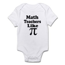 Vintage Math Teachers like Pi Infant Bodysuit