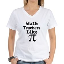 Vintage Math Teachers like Pi Shirt