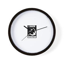 Unique Hate ron paul Wall Clock