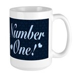 GnG Blue Large Mug