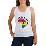 Ghana Black stars Women's Tank Top
