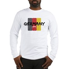 Germany Futbol 2010 Long Sleeve T-Shirt