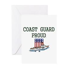 Coast Guard Proud Greeting Card
