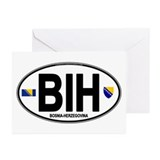 Bosnia-Herzegovina Greeting Cards (Pk of 10)