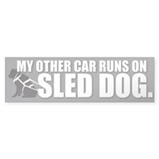 Sled Dog Bumper Bumper Sticker