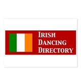 Irish Dancing Directory Postcards (Package of 8)