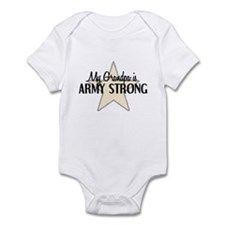 My Grandpa is Army Strong Infant Bodysuit