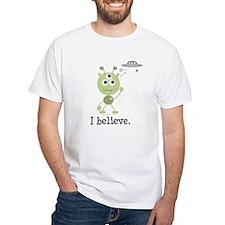 I Believe Alien UFO Shirt