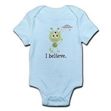 I Believe Alien UFO Infant Bodysuit