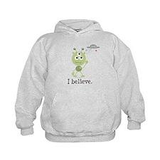 I Believe Alien UFO Hoodie
