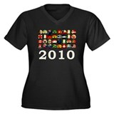 South Africa World Cup Women's Plus Size V-Neck Da