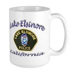Lake Elsinore Police Large Mug
