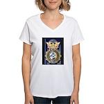 USAF Police GWOT Women's V-Neck T-Shirt