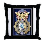 USAF Police GWOT Throw Pillow