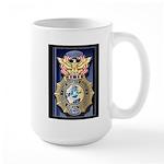 USAF Police GWOT Large Mug