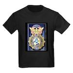 USAF Police GWOT Kids Dark T-Shirt