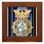 USAF Police GWOT Framed Tile
