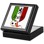 Italian Soccer Keepsake Box